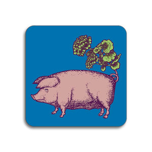 Avenida Home - Puddin' Head - Pig Coaster