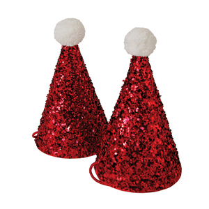 Talking Tables - Christmas Entertainment Mini Santa Hats x 8
