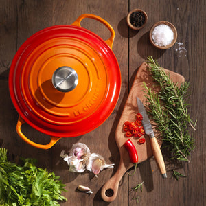 Le Creuset Cast Iron - Volcanic/Flame (9 sizes available round & oval)
