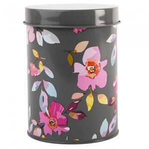 Summerhouse By Navigate - Gardenia Canister Grey Floral