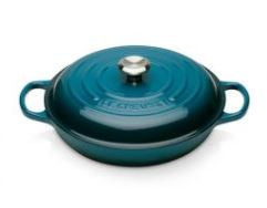 Le Creuset Cast Iron Shallow Casserole 30cm (8 colours available)