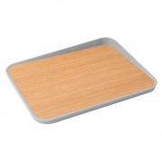 Berghoff - Bamboo cutting board with angled lip 41 x 30,5 cm - Leo