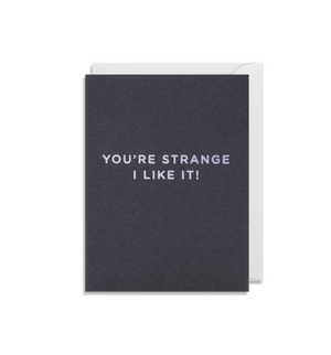 Lagom Kelly Hyatt Mini Card -Your Strange I like it