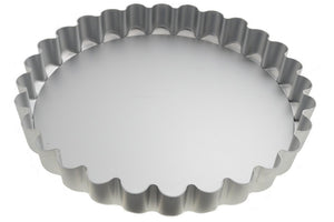 Alan Silverwood - 11inch Loose Base Deep Fluted Flan Tray
