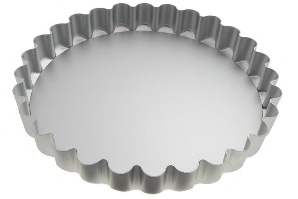 11inch Loose Base Fluted Flan Tray