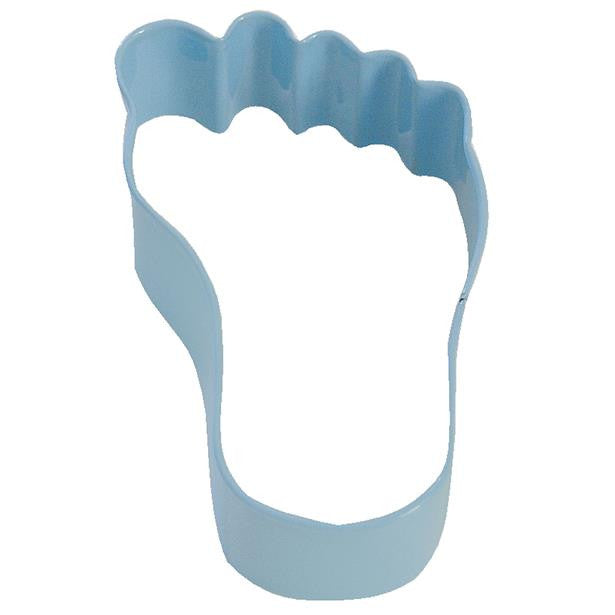 Anniversary House - Baby Foot Cookie Cutter - Baby Blue