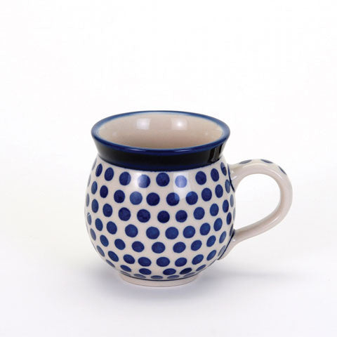 Gents mug - Small Blue Dot