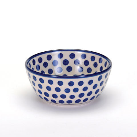 Cereal Bowl - Small Blue Dot
