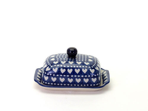 Butter dish - Heart to Heart