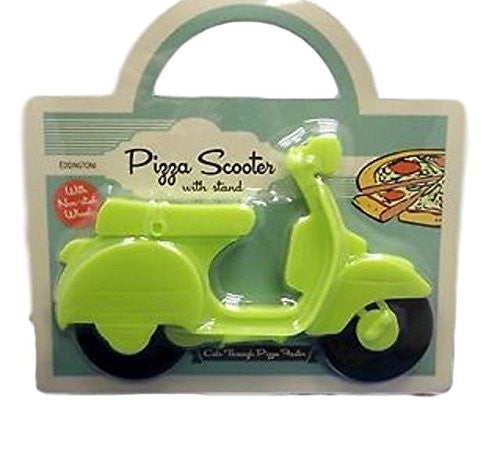 Pizza Scooter Cutter in Green