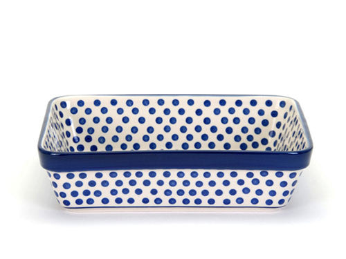 Lasagne dish 28cm - Small Blue Dot
