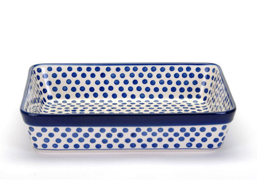 Lasagne dish 32 cm - Small Blue Dot