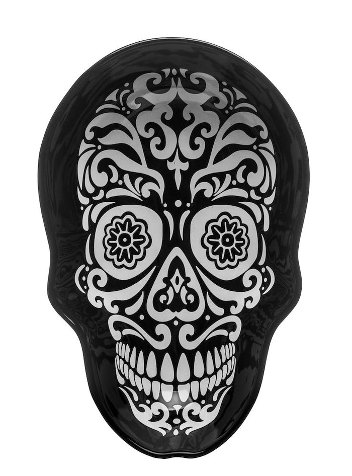 Sagaform - Black & White Skull Dish