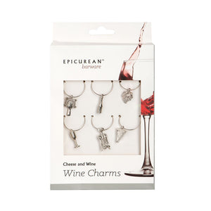 Wine Charms Cheese & Wine