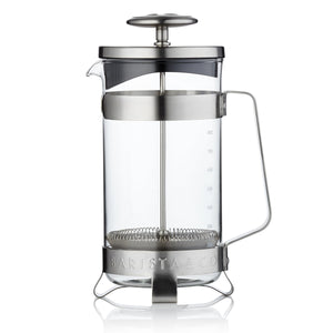 Barista & Co - 8 Cup Coffee Press - Electric Steel