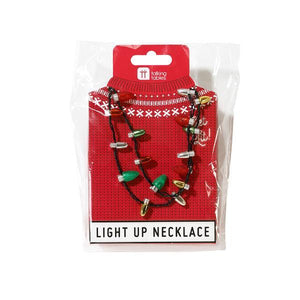 Talking Tables - Christmas LED Necklace
