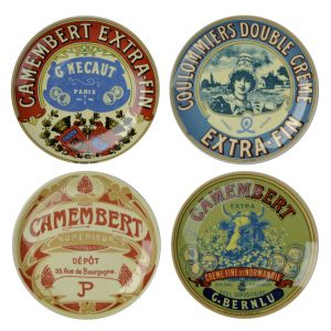 BIA  - Set of 4 Classic Camembert Canape Plates