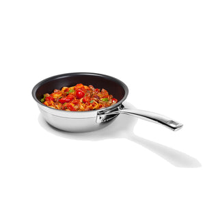 Le Creuset 3 Ply Chefs Pan 20cms -   With Lid - Promo