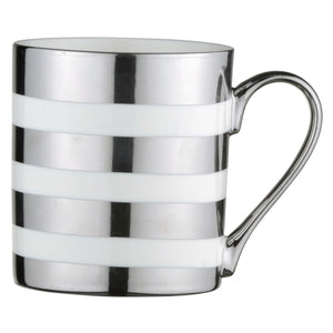 Platinum Stripes Mug