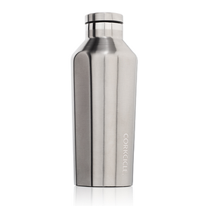 Corkcicle - 9oz Canteen - Brushed Steel