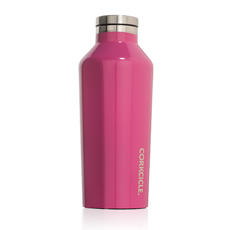 Corkcicle - 9oz Canteen - Gloss Pink