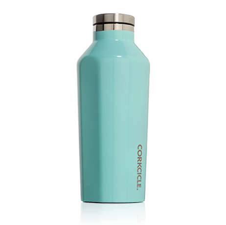 9oz Canteen in Gloss Turquoise