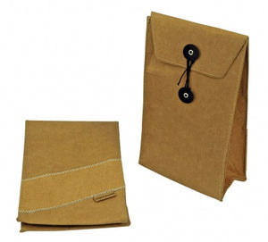 Zuperzozial Brown Lunch Sandwich Bag