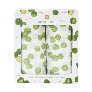 Talking Tables - Botanical Sprout Kitchen Roll - Pack of 2