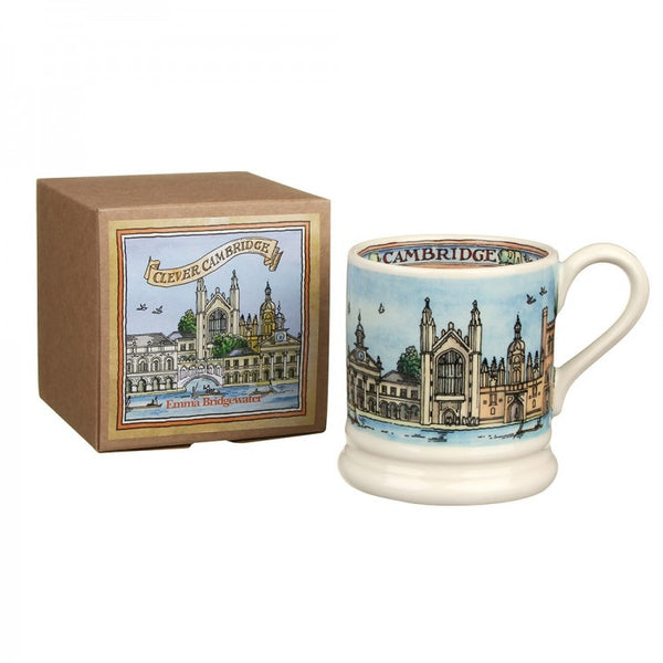 Emma Bridgewater - Clever Cambridge Half Pint Mug - Boxed