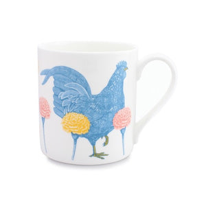 Mclaggan Smith - Quite Big Mug - Chicken And Carnation