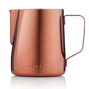 Barista & Co - 600ml Milk Jug - Copper