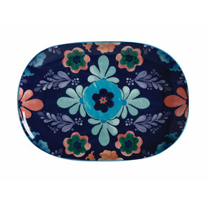 Maxwell & Williams Majolica Serving Platter 40 x 28cms Blue
