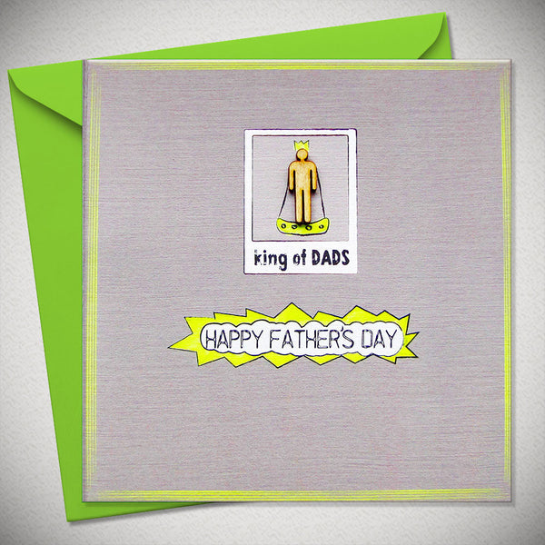 King of Dads Fathers Day Gift Card