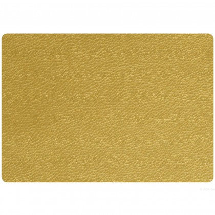 ASA - PLACEMAT LEATHER OPTIC - GOLD