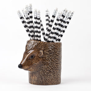 Quail - Hedgehog Pencil Pot