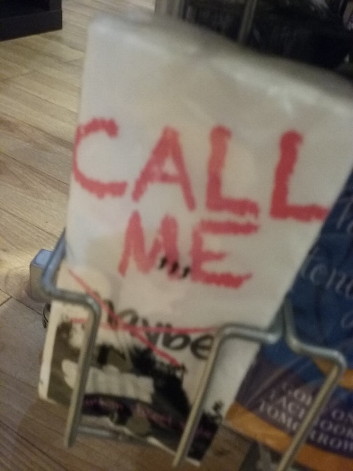 Call me maybe. Sniff