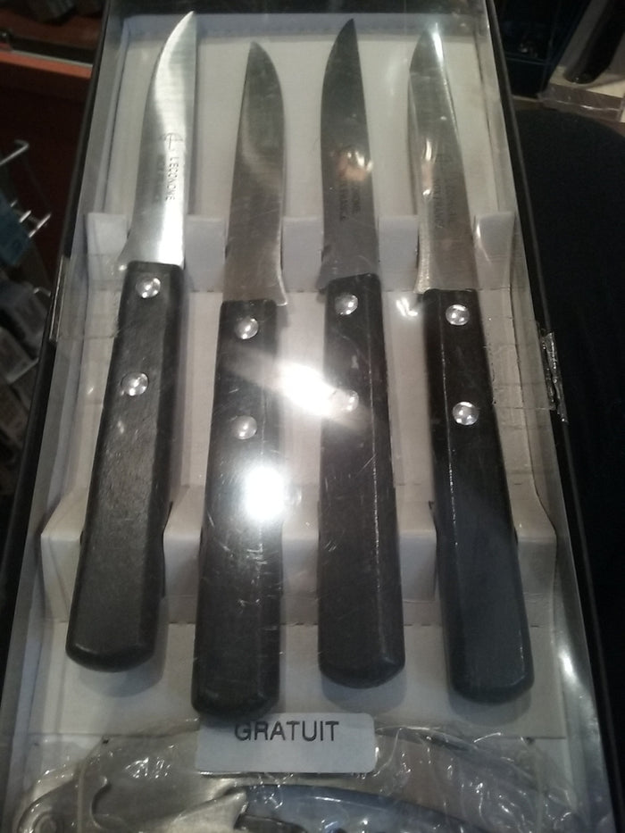 French steak knives (black)