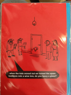 Modern Toss Wine Box Card