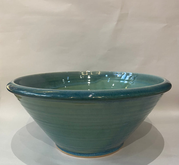 Arwyn Jones Ceramics - Large Fruit Bowl - Green