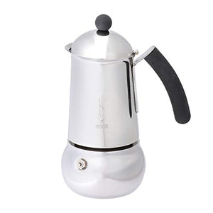 Bialetti - Mukka Induction Silver 6 Cup