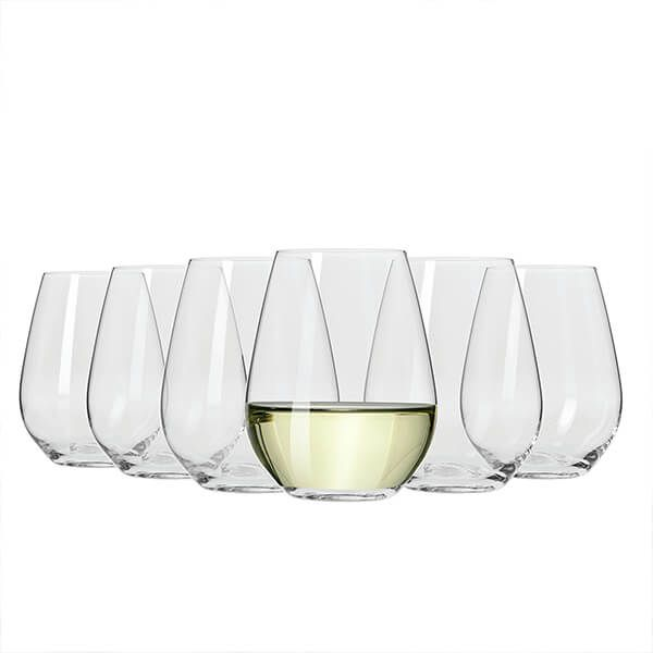 Maxwell Williams - Stemless White Wine Glasses x6