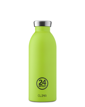 24 Bottles - Clima 500ml - Lime Green