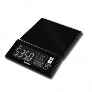 SALTER - MAXVIEW KITCHEN SCALE - BLACK