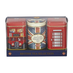 English Teas - Union Jack Mini Tin Triple Pack