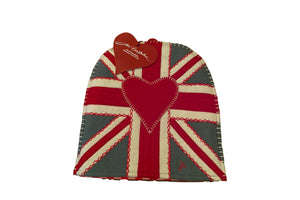 Jan Constantine - Union Jack Heart Coffee Cosy