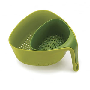 JOSEPH JOSEPH NEST OF COLANDERS - GREEN