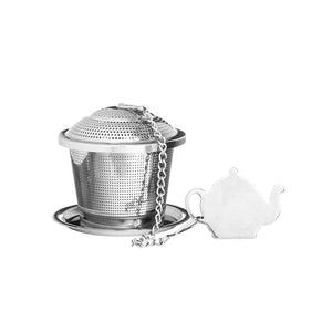 Price & Kensington - Speciality Novelty Tea Infuser With Drip Tray