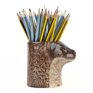 Quail Ceramic Otter Pencil Pot