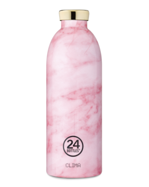 24 Bottles Clima 850ml - Pink Marble
