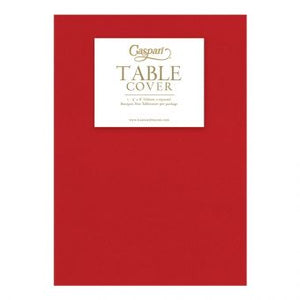 CASPARI PAPER TABLECLOTH AIRLAID-RED